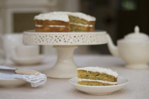British food fortnight courgette cake