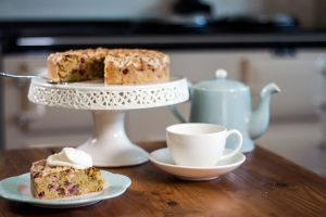 British food fortnight rhubarb cake
